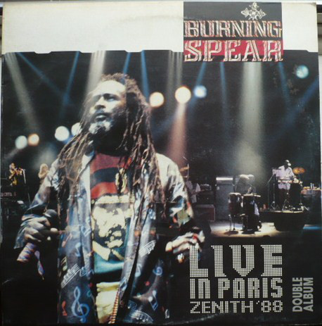 Burning Spear ‎– Live In Paris