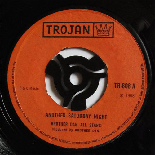 Brother Dan All Stars-Another Saturday Night/Bees Knees